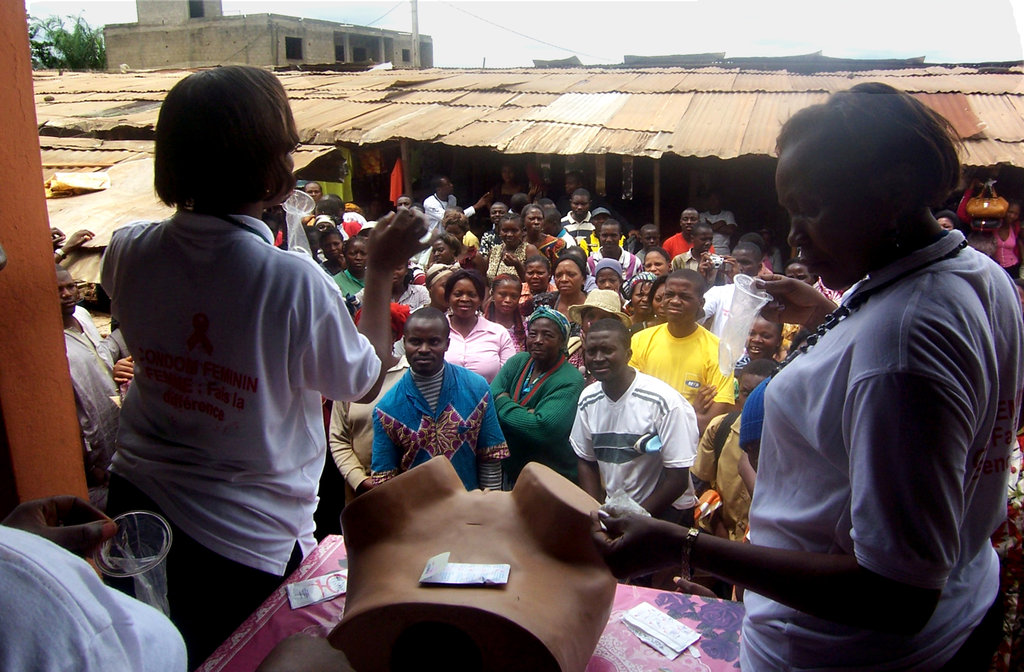 Help Women Stop HIV with Female Condoms - Cameroon
