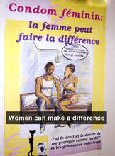 Public Service Poster for Female Condoms