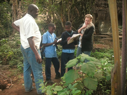 Establish agricultural training center in Cameroon