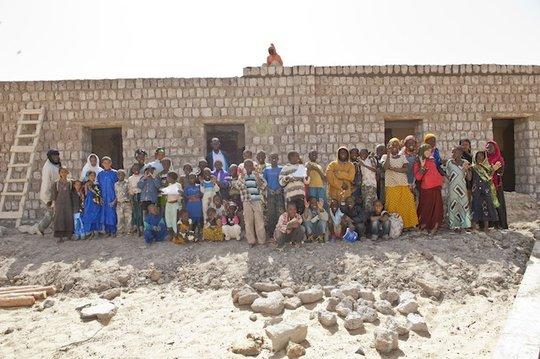 Mora School in construction