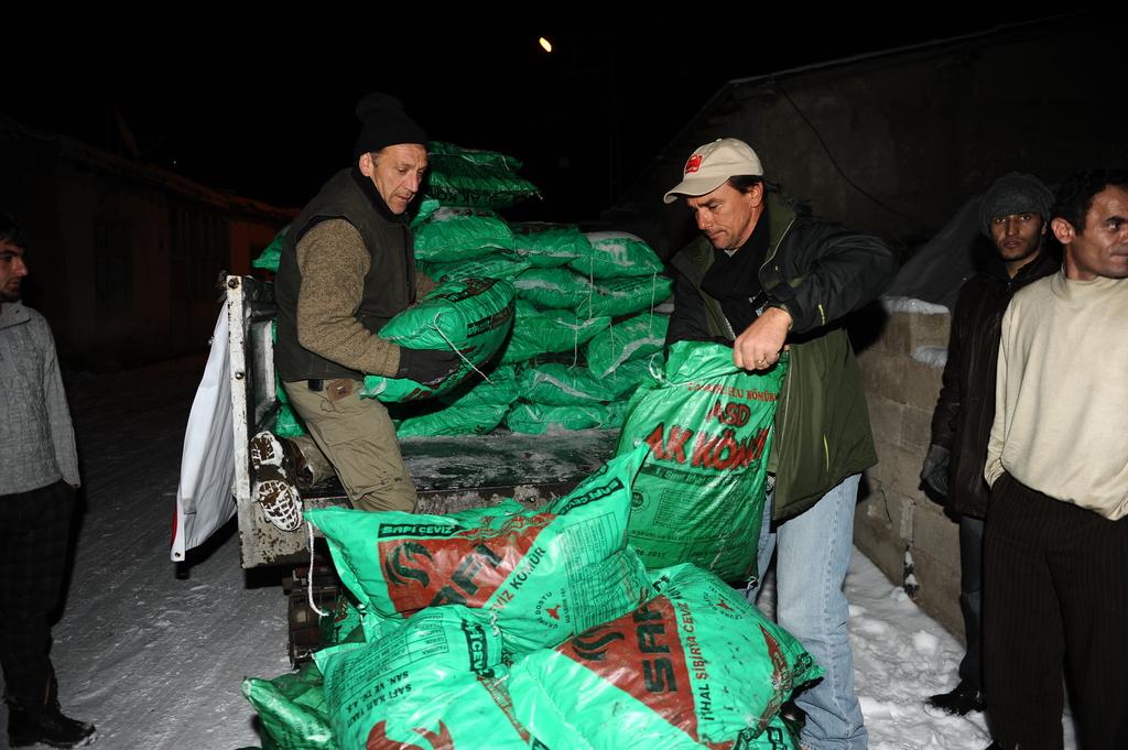 Fuel Relief Fund delivering coal