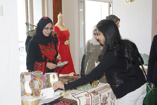 Somood's business, Shal Embroidery, was a hit!