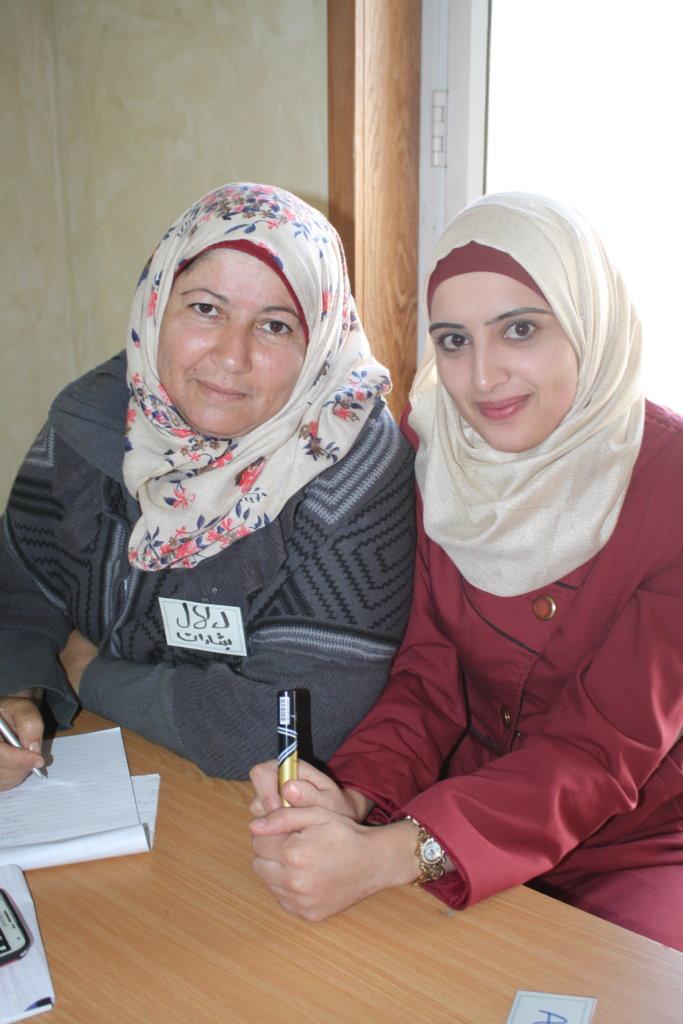 Entrepreneurs Dalal and Asmaa