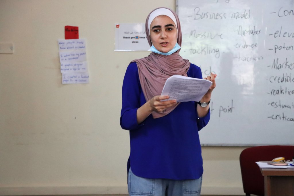 Support Female Entrepreneurs in Palestine