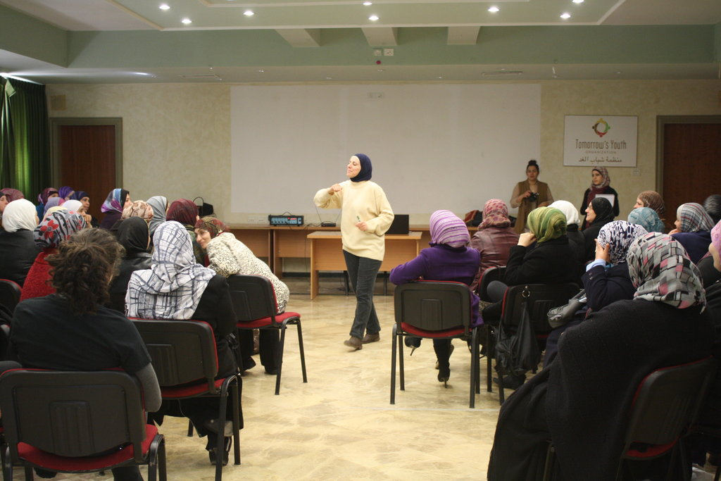 Women speak up on behalf of their fellow women