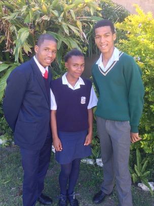 LOOKING proud & MAKING US proud! High Schoolers!