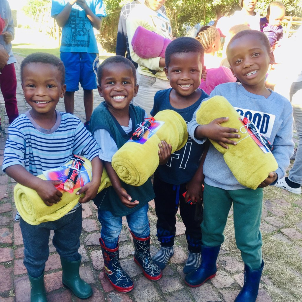 Education support for children in South Africa