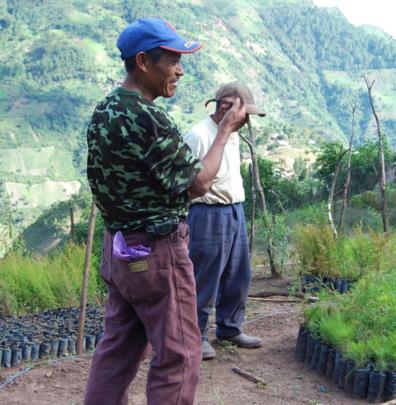 Farmers in San Mateo Ixtatan, Huehuetenango