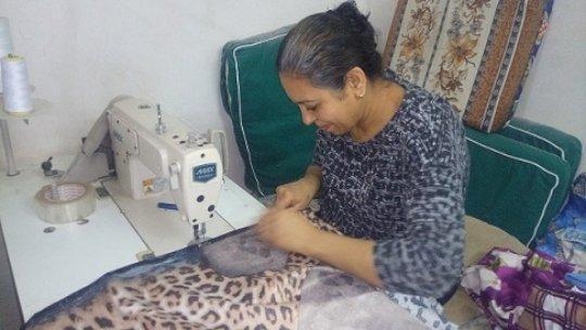 One of B'edaya mothers in her working room