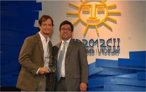sitawi's CEO with the President of the IBD