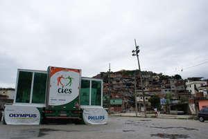 CIES at the Complexo do Alemao in Rio