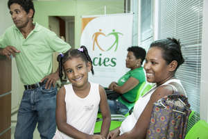 Patients at one of CIES's centers (by Paulo Fabre)