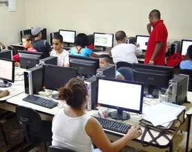 Caspiedade's digital inclusion room