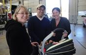 Car seats for Oregon families