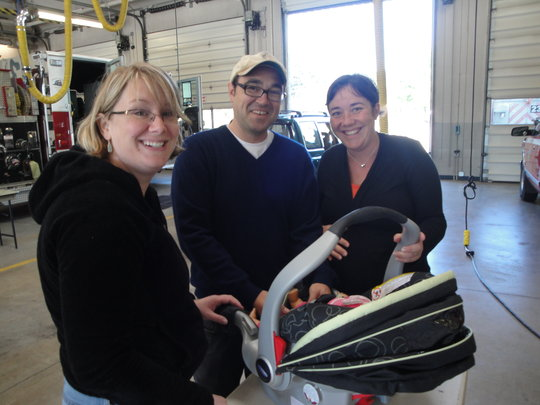 Car seats for Oregon families