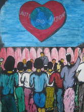 Peace Art from Burmese Refugee DARE Centre