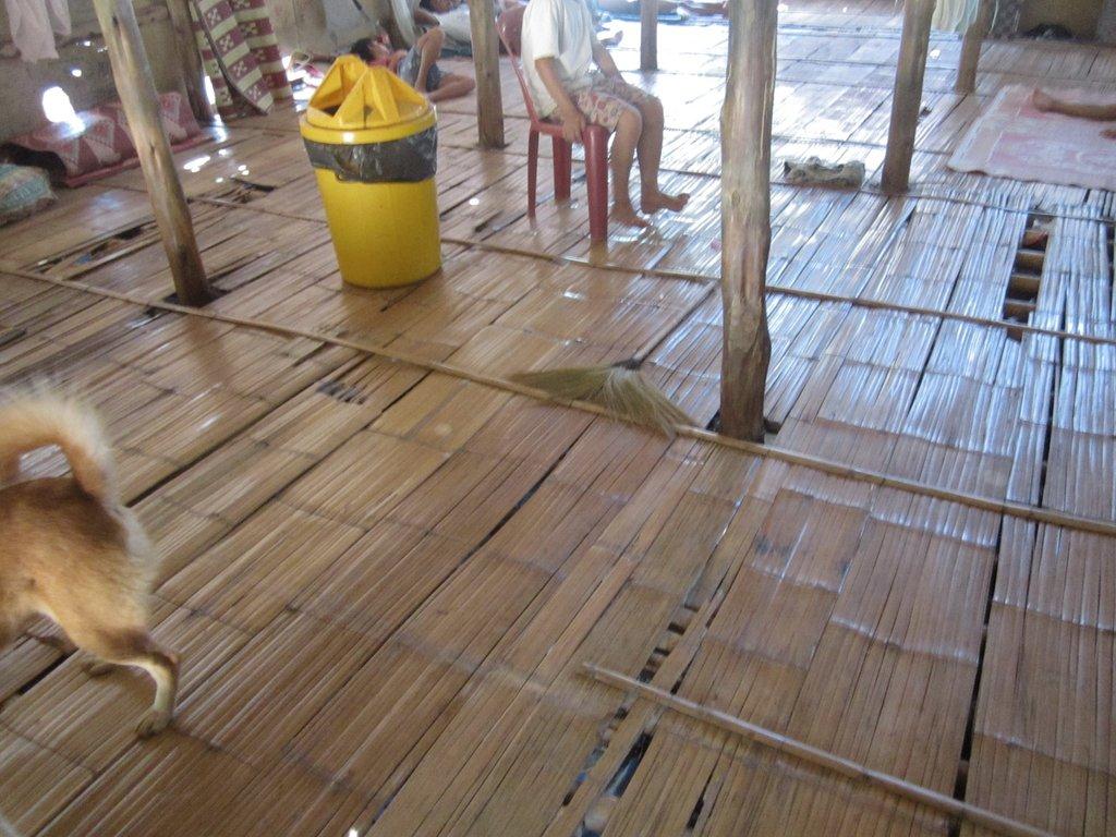 The Floor Needs Replacing So No One Gets Hurt
