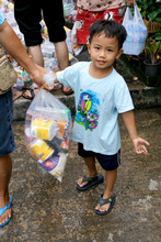 Distribution of emergency supplies