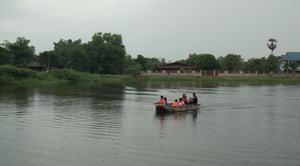 Disaster Training - Driving Boats in floods