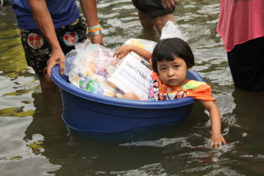 Thailand Flooding-World Vision Emergency Response