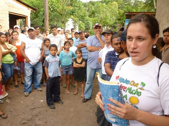 Meeting with the Community of Lucidia Mantilla