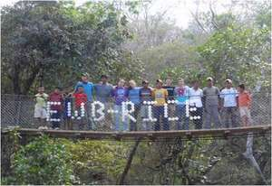 Team Celebrates Bridge Completion in El Panama
