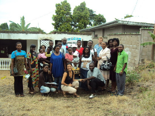 Beneficiaries and Reach Out Staff