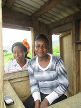 Beneficiary with her call box business