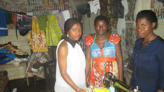 Volunteer, trainer and Aba.Tailoring project.