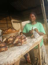 Beneficiary of smoked fish business