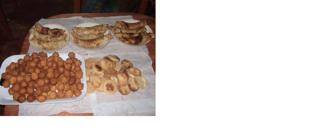 Finished products of Cassava