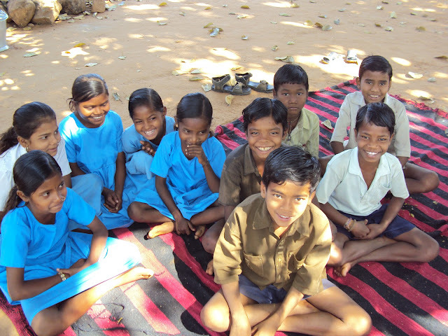 Children supported by Adhar