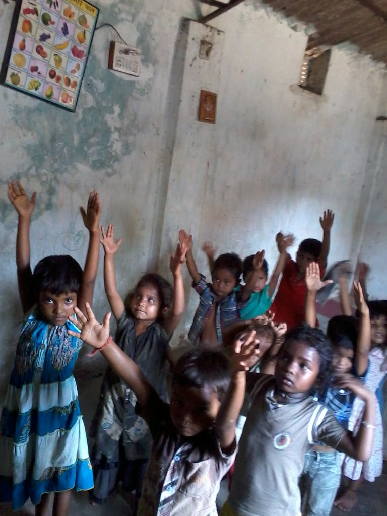 Children at the Community Care Centre