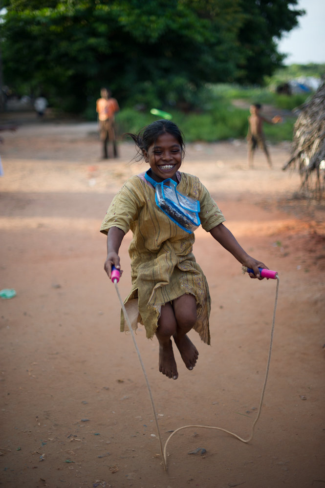 Giving children the chance of a happy childhood