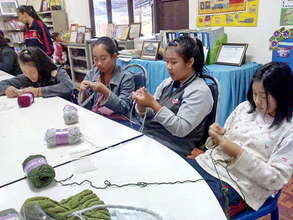 Hilltribe Housewives learn new skills