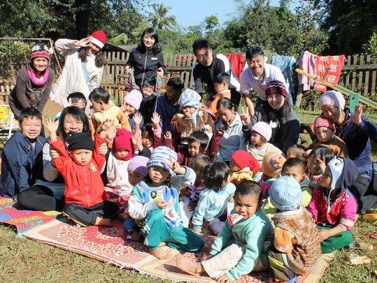 Visited Hilltribe toddlers in Nurseries, Samerng