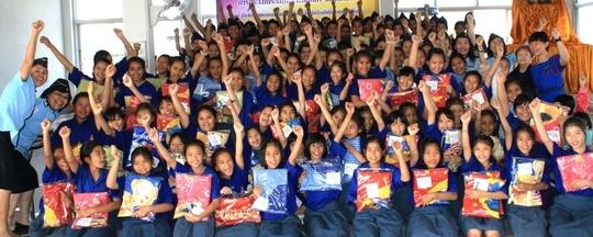 Thanks!...from girls in Khon Kaen