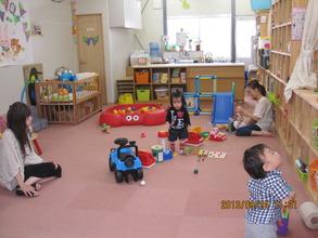 Children playing at the Kirarin Kids