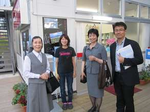 Visit by Director, Institute of Grief Care