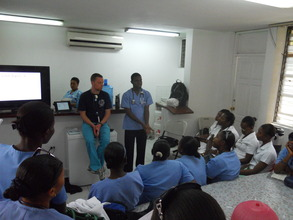 EMPACT EMT's teaching nursing students (Medishare)