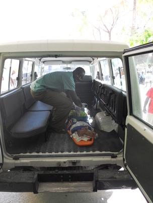 Alexi, EMT transporting a patient