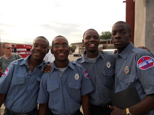 Help train Haiti's first Paramedics & EMT's.