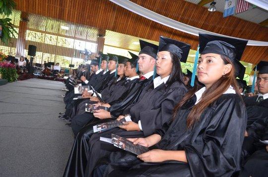 EARTH 2011 graduation