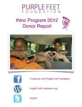 Purple Feet Foundation 2012 Donor Report (PDF)