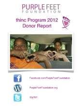 thinc Donor Report 2012 (PDF)