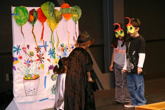 Inner-City Arts Drama Students