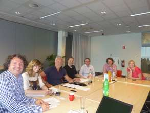 meeting for tv-commercial