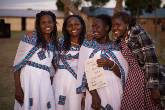 These girls finished High School with your support