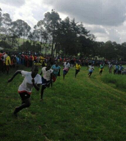 Tareto Maa Girls racing