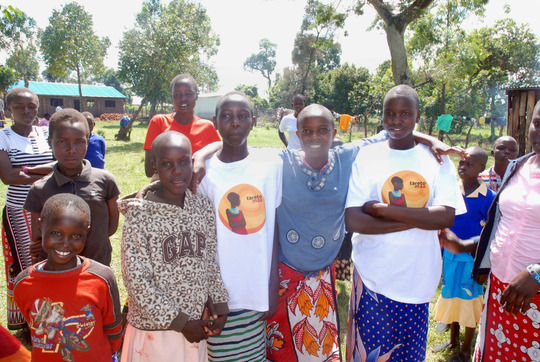 Children at the Tareto Maa Rescue Center